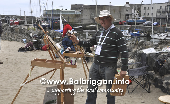 Plein Air Artists visit Balbriggan 23-Jun-19_11
