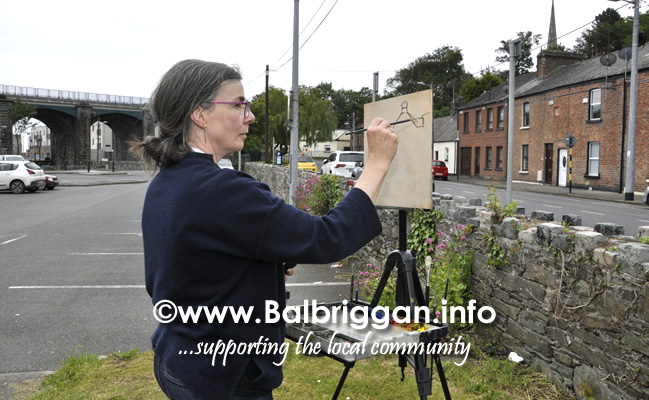 Plein Air Artists visit Balbriggan 23-Jun-19_2
