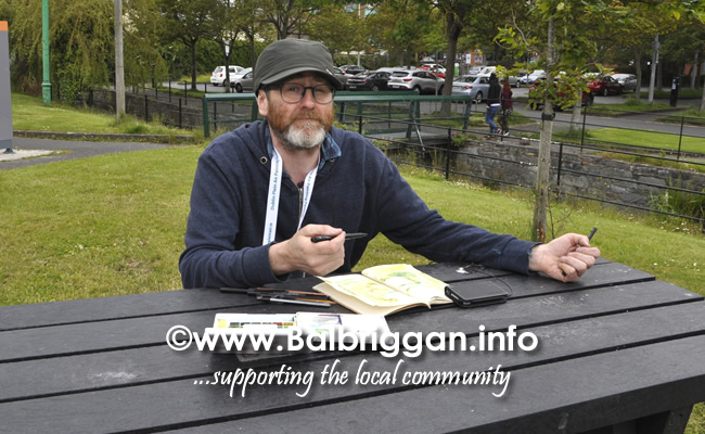 Plein Air Artists visit Balbriggan 23-Jun-19_3
