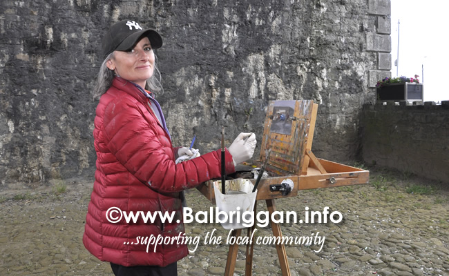 Plein Air Artists visit Balbriggan 23-Jun-19_4