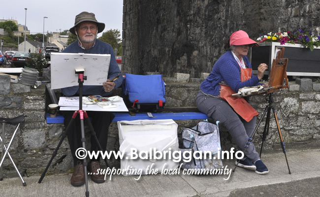 Plein Air Artists visit Balbriggan 23-Jun-19_8