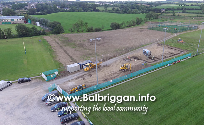 balbriggan rugby club new clubhouse construction 11jun19