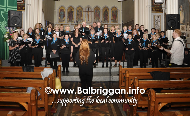 balbriggan gospel choir concert in aid of balbriggan meals on wheels 28jun19