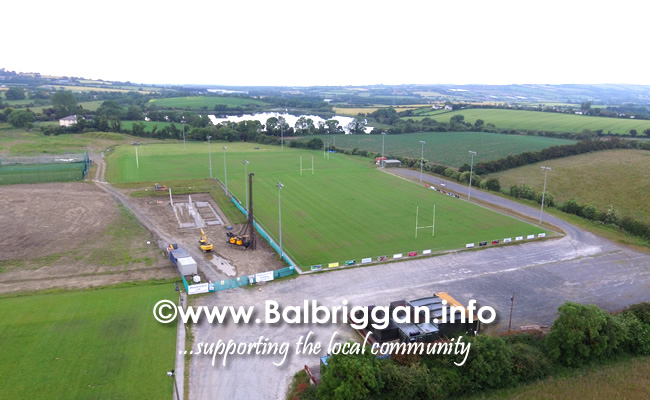 balbriggan rugby club clubhouse progress 29jun19