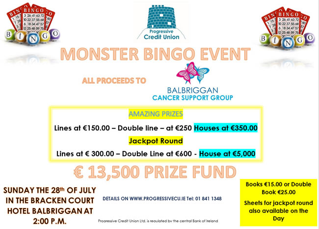 monster bingo balbriggan