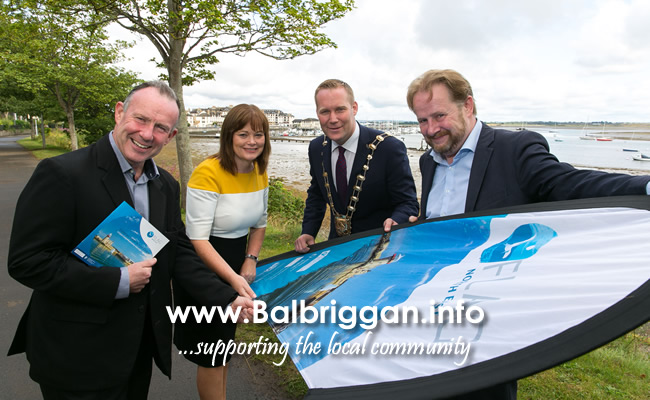 David Pryor, Administrative Officer/Project Manager Water Services Fingal County Council, AnnMarie Farrelly, Chief Executive Fingal County Council, Cllr. Eoghan O'Brien, Mayor of Fingal, Garret O'Brien Chair of FLAG North East.