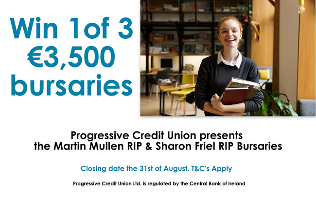 progressive credit union bursary 2019
