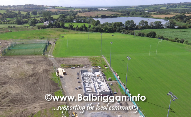 Balbriggan RFC new clubhouse progress 01sep19