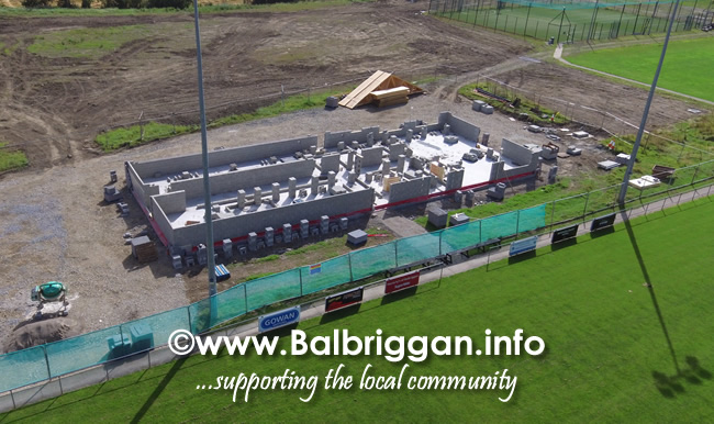 Balbriggan RFC new clubhouse progress 01sep19_2