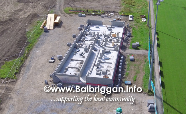 Balbriggan RFC new clubhouse progress 01sep19_3