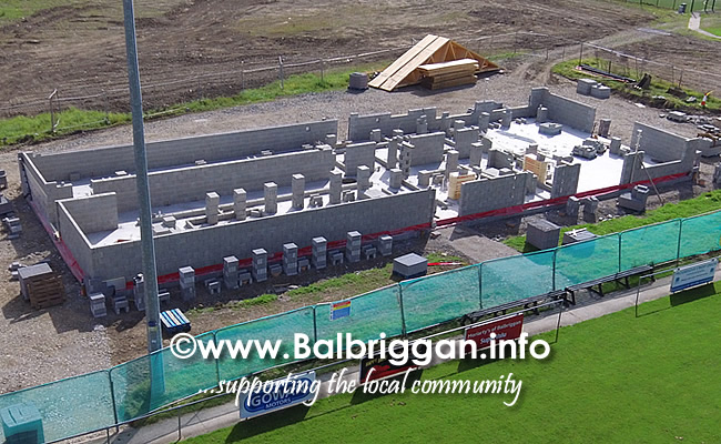 Balbriggan RFC new clubhouse progress 01sep19_4