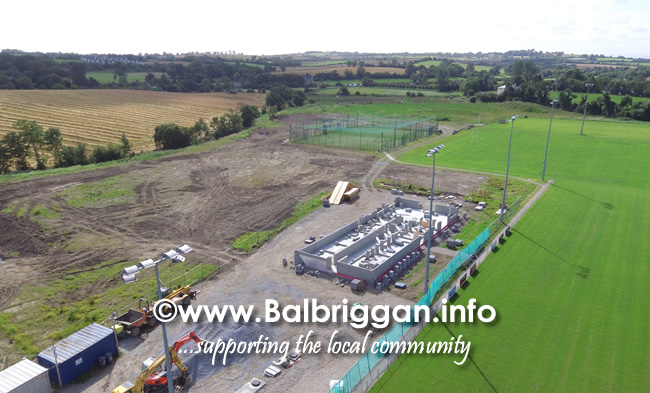 Balbriggan RFC new clubhouse progress 01sep19_7