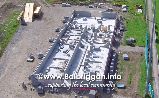 Balbriggan RFC new clubhouse progress 01sep19_8