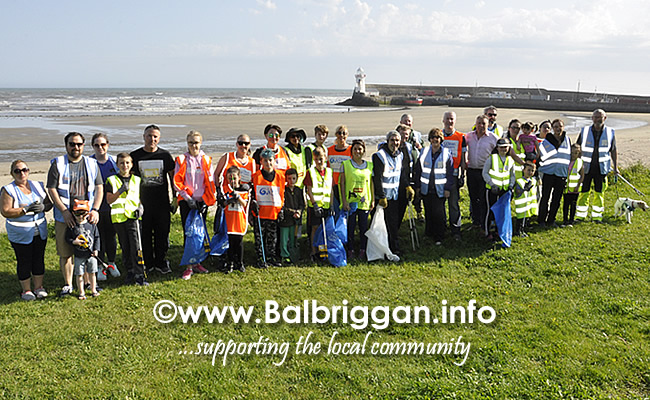 Clean Coasts bi-annual Big Beach Clean in Balbriggan 21sep19