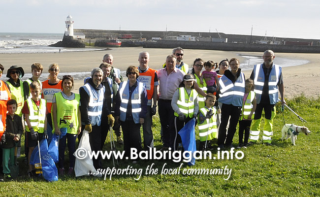 Clean Coasts bi-annual Big Beach Clean in Balbriggan 21sep19_3