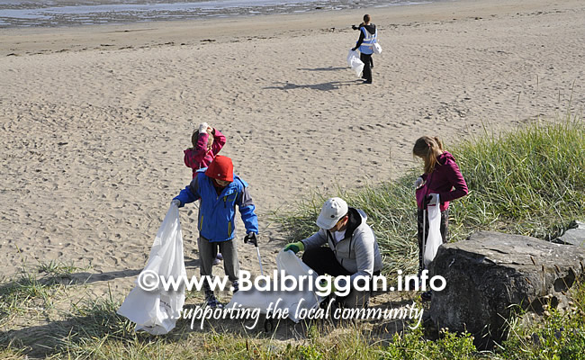 Clean Coasts bi-annual Big Beach Clean in Balbriggan 21sep19_7