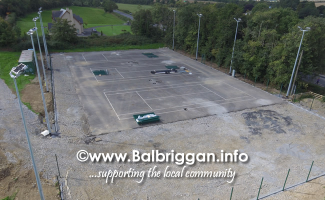 New Tennis court at Glebe Park Balrothery 01sep19_2