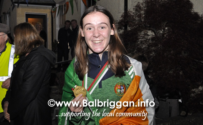 Niamh Fay wins gold at the European Youth Championships 11sep19