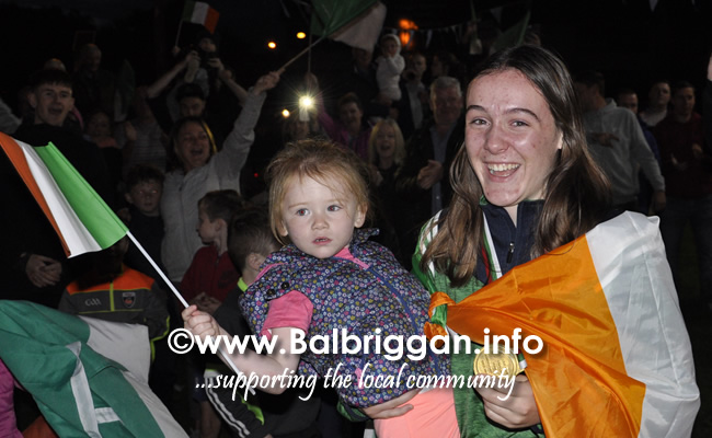 Niamh Fay wins gold at the European Youth Championships 11sep19_10