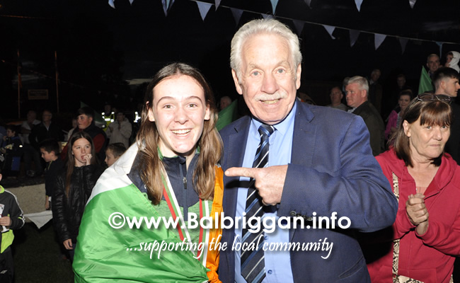 Niamh Fay wins gold at the European Youth Championships 11sep19_3