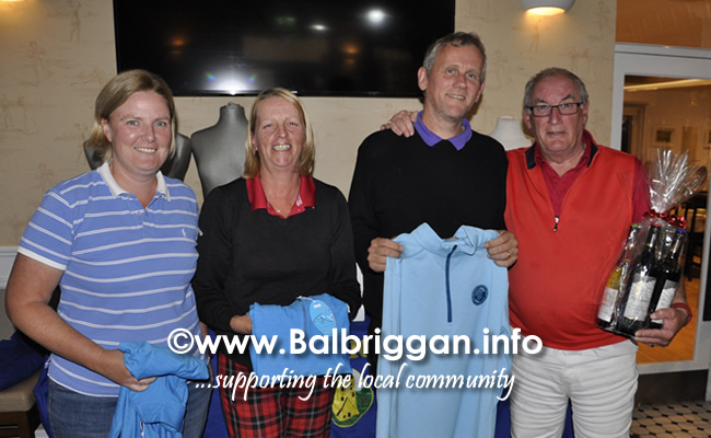Nine and Dine competition and social evening in Balbriggan Golf Club 06sep19_2