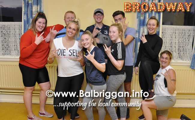 Performing Rock of Ages; Ciara O'Rourke, Amy Gibbons, Saorise Blount, Gill Blount, Caitlin O'Gorman, Chloe Johnston, Cian Bolger Hayes, Billy Nally, Cain Nulty, Mikey Corcoran