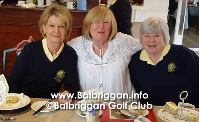 Afternoon Tea at Balbriggan Golf Club 25oct19