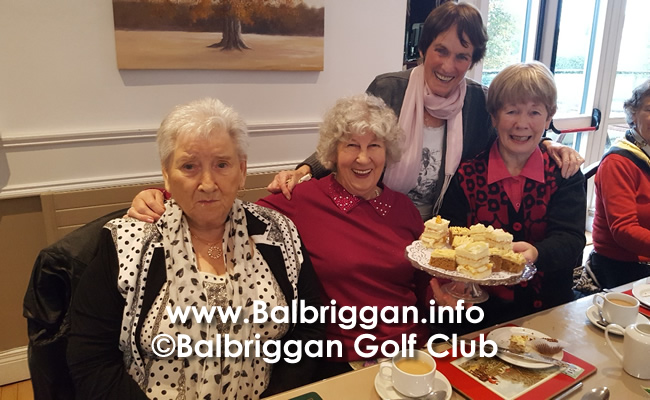 Afternoon Tea at Balbriggan Golf Club 25oct19_2
