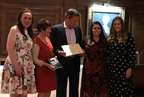 Balbriggan Community College awarded International School of Distinction for the fourth year in a row 01oct19 smaller