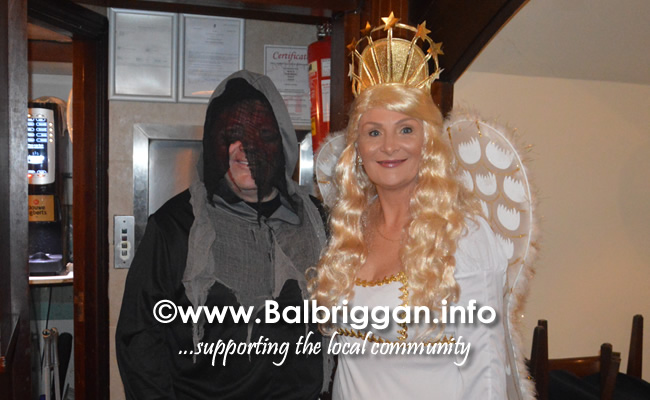 The Harvest Balbriggan ACE Fundraising 10th year Halloween Charity Night 27oct19