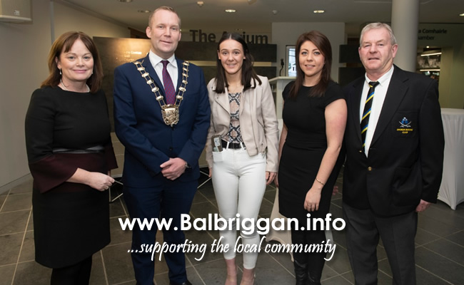 European Youth Champion boxer Niamh Fay honoured with civic reception at FCC nov19_4