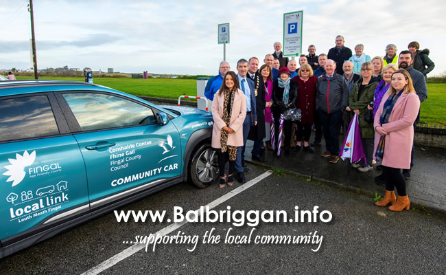 Fingal County Council in partnership Local Link and GoCar launch the pilot Community Car Service 29nov19