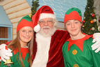Santa arrives to Millfield shopping centre in Balbriggan 23nov19_smaller