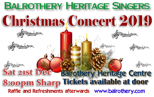 balrothery heritage singers christmas concert 2019