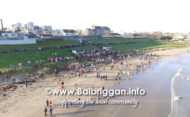 Balbriggan Christmas day swim 25dec19