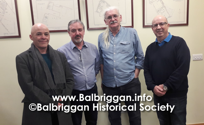 Balbriggan Historical Society Looks back at a great year and looks forward to 2020 14dec19