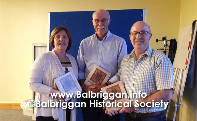 Balbriggan Historical Society Looks back at a great year and looks forward to 2020 14dec19_2