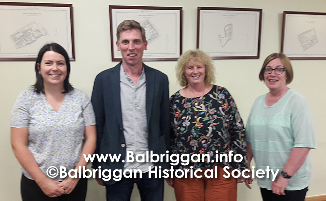 Balbriggan Historical Society Looks back at a great year and looks forward to 2020 14dec19_3