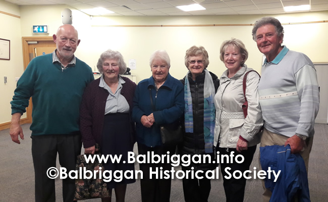 Balbriggan Historical Society Looks back at a great year and looks forward to 2020 14dec19_4