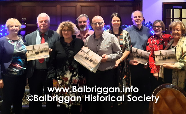 Balbriggan Historical Society Looks back at a great year and looks forward to 2020 14dec19_6