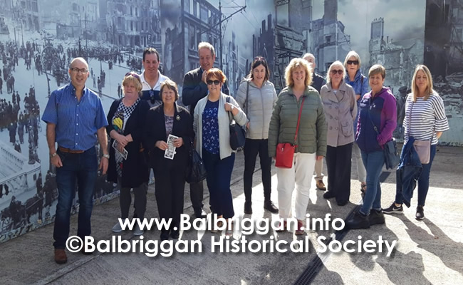 Balbriggan Historical Society Looks back at a great year and looks forward to 2020 14dec19_7