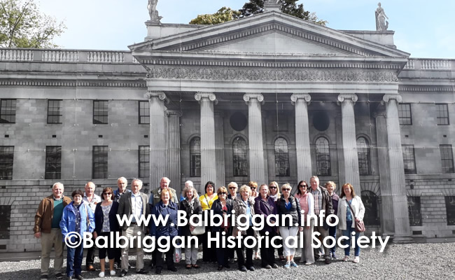 Balbriggan Historical Society Looks back at a great year and looks forward to 2020 14dec19_8