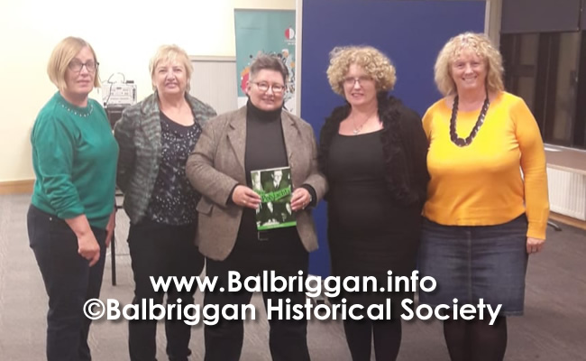 Balbriggan Historical Society Looks back at a great year and looks forward to 2020 14dec19_9