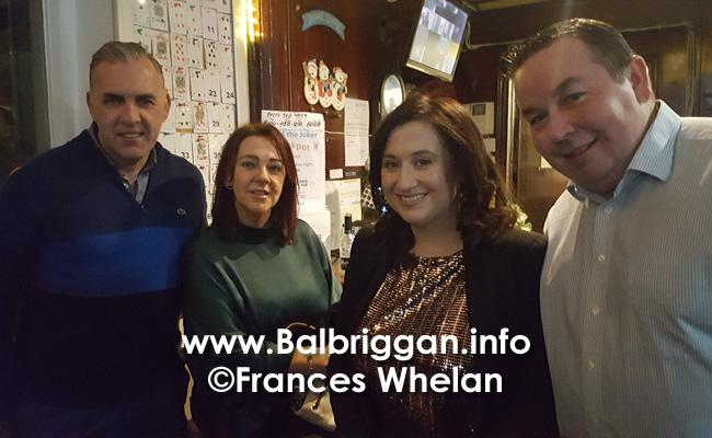 Balbriggan golf club present cheques to Remember us and Balbriggan Cancer Support Group 14dec19_11