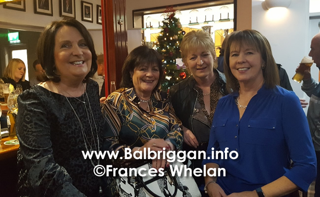 Balbriggan golf club present cheques to Remember us and Balbriggan Cancer Support Group 14dec19_14