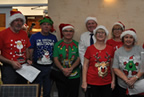 Balbriggan golf club present cheques to Remember us and Balbriggan Cancer Support Group 14dec19_smaller