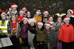 Santa switches on the Christmas lights in Balrothery 09dec19_smaller