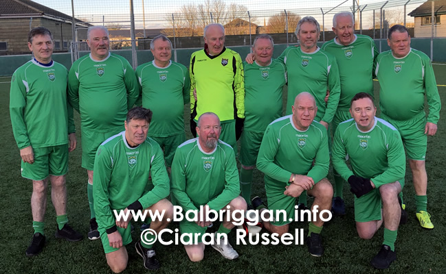 Walking Football match the Glebe Walkers balbriggan and Drogheda Town 30nov19