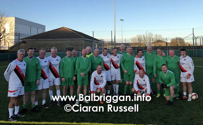 Walking Football match the Glebe Walkers balbriggan and Drogheda Town 30nov19_2