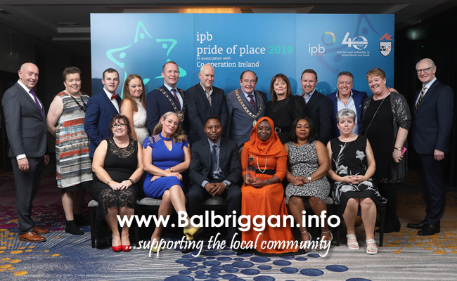 Wins for Flemington Balbriggan and Whitestown in IPB Pride of Place Awards 05dec19